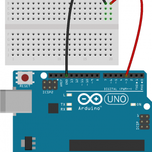 Connect LED to Arduino