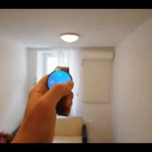 Home Control with Fibaro, Moto360 Android Wear, Tasker and AutoWear - YouTube