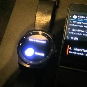 Enviar WhatsApp desde Android Wear (AutoVoice, Tasker, AutoWear y WhatsTasker) - YouTube