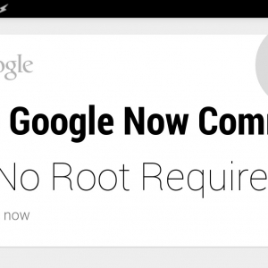 Create New Google Now Commands in 30 seconds - No root required - YouTube