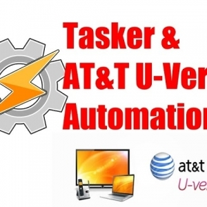 Tasker & AT&T U-Verse Automation - YouTube