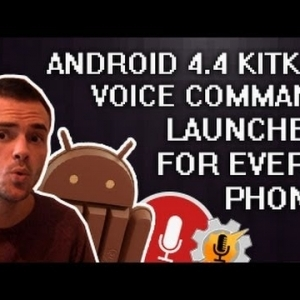 Always listening launcher from KitKat 4.4 for every Android phone!  (Tasker + AutoVoice) - YouTube